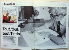 Mag L'Express 2015: HERGE et TINTIN_FRANCE GALL_JEAN MALAURIE