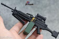 Rare Arms-rack 1/6 Scale MK48 Rilfe Gun Weapon Box Set 1/6 Black Version