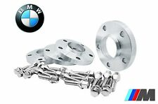 (4) 5x120 Hub Centric Wheel Spacers Kit 15mm Thick With Extended Bolts For BMW