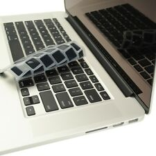 "BLACK Silicone Keyboard Cover for NEW Macbook Pro 13"" A1425  with Retina display"