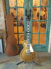 2016 Gibson Les Paul Standard Electric Solid Body Gold Top Guitar w/ Case