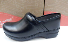 DANSKO WOMENS CLOGS PRO XP CABRIO BLACK SIZE EU 37