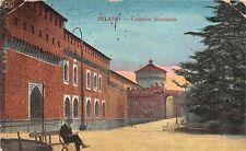Br33967 Milano Castelle Sforzesco italy