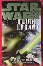 Star Wars: Knight Errant (2011) - Paperback Signed By John Jackson Miller -