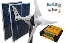 Set i-500 plus 24v, viento generador + 200w solar + hybrid de carga regulador ista-Breeze ®