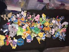 Pokemon Plush Lot 60 Pieces Jakks Pacific Stuffed Figure Retired Poke Doll Legit