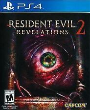 PLAYSTATION 4 RESIDENT EVIL 2 REVELATIONS BRAND NEW VIDEO GAME