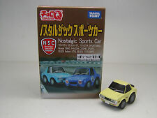 "TOYOTA CELICA GT   Yellow   Nostalgic Sports Car  Choro Q  5cm(2"") NEW"