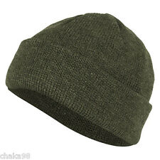 Rus Army Spetsnaz Half-woollen Beanie Olive green colour by SPLAV