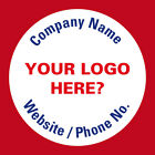 Personalised Business Name Stickers Thank You Seals Your Logo Labels Address 398