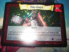 HARRY POTTER TCG GAME QUIDDITCH CUP PUT-OUTER 22/80 SUPER RARE FOIL MINT NEUVE