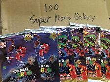 Enterplay Super Mario Galaxy Lot of 100 X Trading Card Fun Packs BRAND NEW