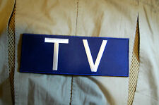 """Conflict War Theater TV NEWS MEDIA PRESS 11""""Reporter Patch for Ballistic Vest #6"""