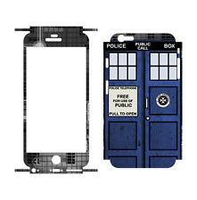 """707 Skins FULL Wrap For Apple iPhone 6S 4.7"""" Cover Decal Sticker - TARDIS"""