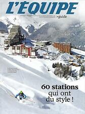 L'EQUIPE SUPPLEMENT N°1741 28 NOV. 2015  SPECIAL NEIGE: GUIDE DES STATIONS/ SKI