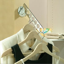 Adjustable Laundry Valet Clothes Hanger Chrome