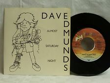 "7"", Single,  Dave Edmunds, Almost Saturday Night, You´ll Never Get Me Up, Mint-"