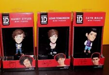 1 Direction set of 3 Mini Figures - Harry, Louis, Zayn - NIB