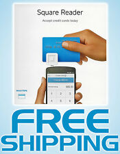 Square Credit Card Reader - Mobile Payments on Smartphones & Tabets - NEW