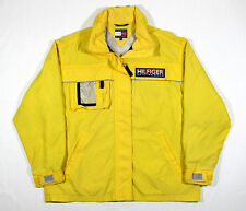 VTG 90S TOMMY HILFIGER WINDBREAKER JACKET RIPSTOP SAILING GEAR POLO LOTUS M USA