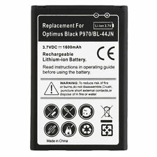 Quality 1500mAh Standard Li-Ion Battery Replacement for LG BL-44JN Black QT