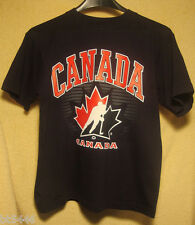TEAM CANADA Boys M MEDIUM Tee T Shirts Officially Licensed BRAND NEW with TAGS