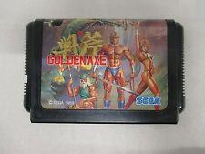 Mega-Drive Genesis -- Golden Axe -- JAPAN Game Sega. Clean & Work fully!! 11439