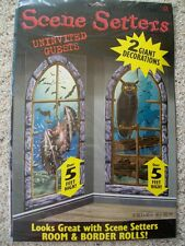 NEW HALLOWEEN 2 Giant Decorations Scene Setters Window Bats