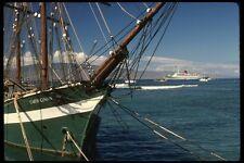 046071 restaurado Whaler cartaginés Lahaina Maui A4 Foto Impresión
