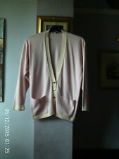 VINTAGE COTTON CARDIGAN BY BURBERRYS SIZE 12/36 INCH CHEST