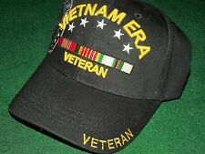 BIG SALE MILITARY CAP VIETNAM ERA AND COLD WAR VETERAN (BLACK) HAT