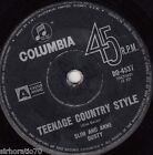 SLIM & ANNE DUSTY Teenage Country Style / You'd Better Be Waiting OZ 45