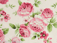 Patchwork Stoffa ROSE sostanze Red Rooster ROSE ROSE BOUQUET ROSA PINK 30x1,12