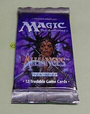 MTG Magic Alliances Booster Pack from SEALED Box NEW English Ice Age Block