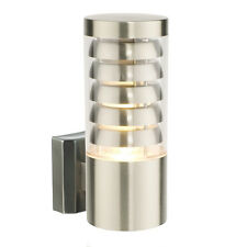 Saxby 13921 - Tango - 9.2W Modern Stainless Steel IP44 Outdoor Garden Wall light