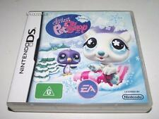 Littlest Pet Shop Winter Nintendo DS 2DS 3DS Game Preloved *Complete*