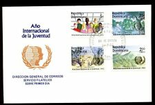 Dominican Republic 1985 Int. Youth Year FDC #C5484