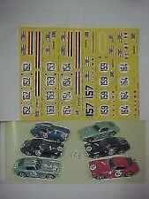 FERRARI 250 GT SWB TOUR DE FRANCE 1960 1/43 DECAL