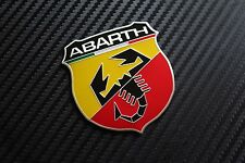 FIAT ABARTH BOOT TAILGATE WING Badge Punto Stilo Bravo Seicento (23C)