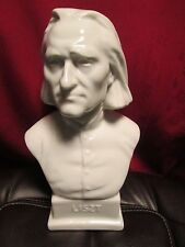 HEREND PORCELAIN BUST LISZT GLOSS FINISH!