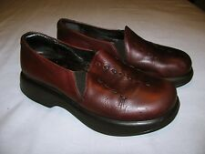 DANSKO Brown Leather Clogs Size 38 US 8
