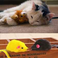 Best Gift Play Playing Toys False Mouse  For Pet Cat Kitten 2pcs Randomly