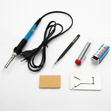 5in1 230V 60W Electric Constant Temperature Rework Soldering Iron Station Kit
