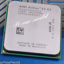 100% OK ADA6000IAA6CZ AMD Athlon 64 X2 6000+ 3 GHz Dual-Core Processor CPU AM2