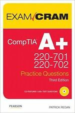 CompTIA A+ 220-701 and 220-702 Practice Questions Exam Cram by Patrick Regan