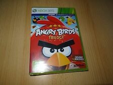 Angry Birds Trilogy for Xbox 360 NEW SEALED