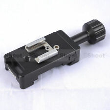 Universal Hot Shoe Mount Mini Flash Stand Metal Clamp Camera Quick Release Pate