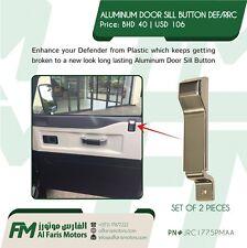 ALUMINUM DOOR SILL BUTTON DEFENDER /RRC JRC1775PMAA