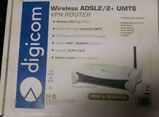 modem digicom adsl2/2+ backup umts professionale router vpn
