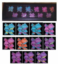 LONDON 2012 OLYMPICS VENUE LOGO 11 PIN BADGE SET